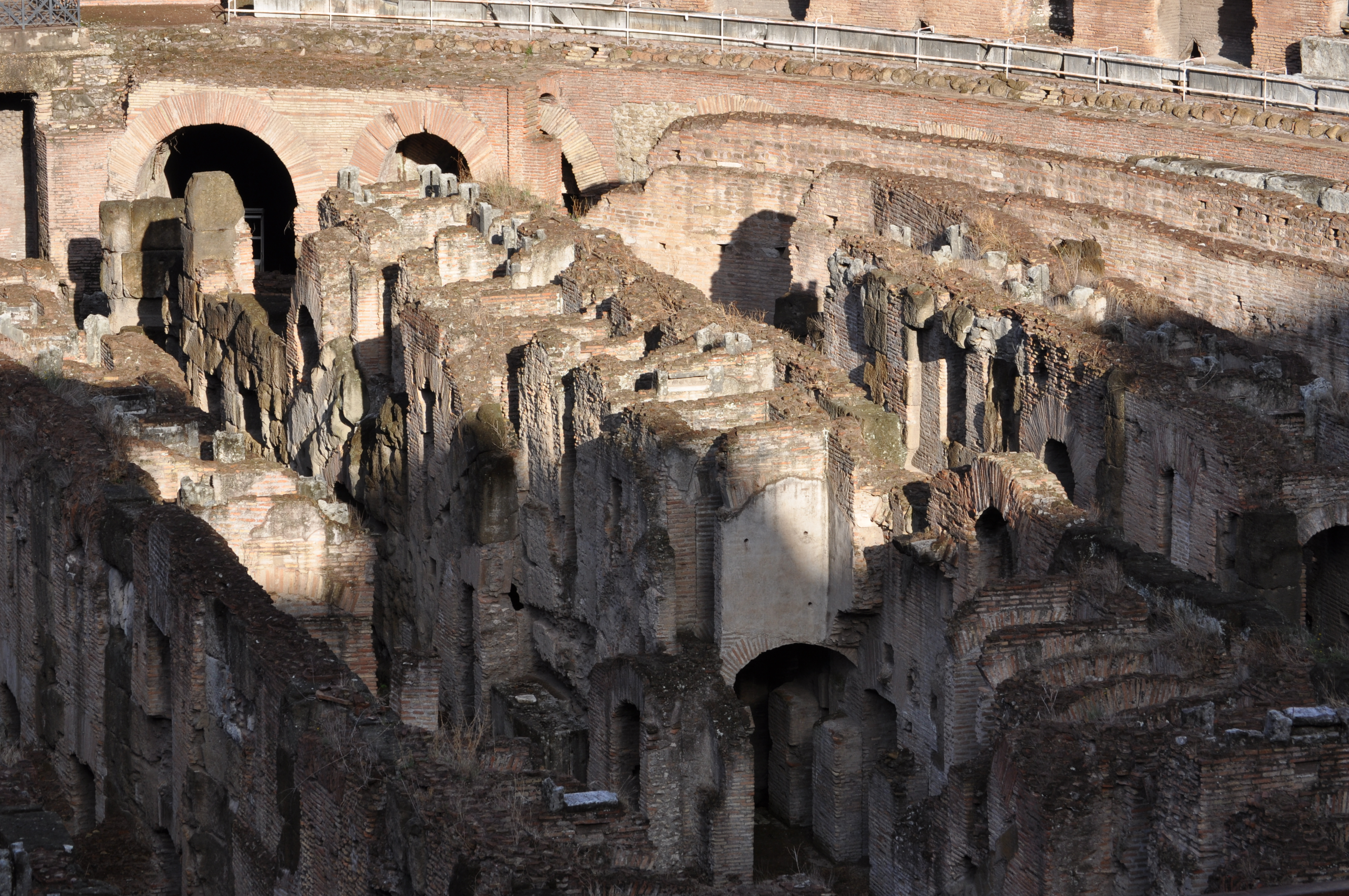 Under the Colosseum floors